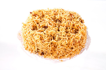 Crispy fried rice noodle
