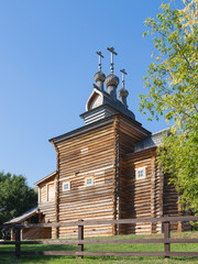 old beautiful wooden church