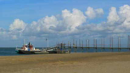 Débarcadère, Texel, Pays-Bas