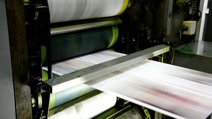 offset print machine