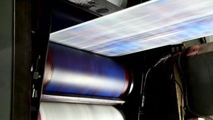 Webset offset print shop newspapers Printing