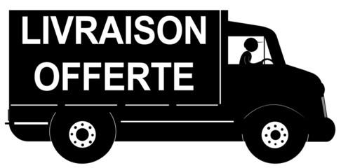 camion noir livraison offerte