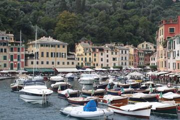 View of Portofino, Italy