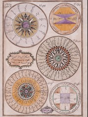 Arabic astronomical chart