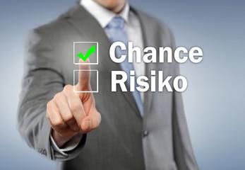 Chance, Risiko