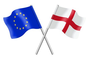 Flags: Europe and England