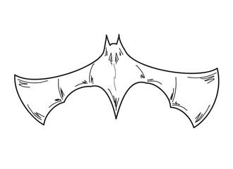 sketch of the bat