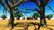 African village - 70147862