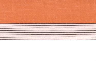 Closeup of tablecloth.