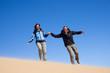 Di corsa sulla sabbia