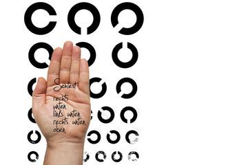 Sehtest Augenarzt © Matthias Buehner