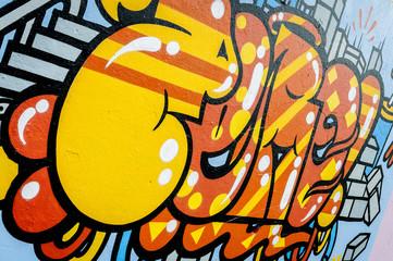 Graffiti bubble