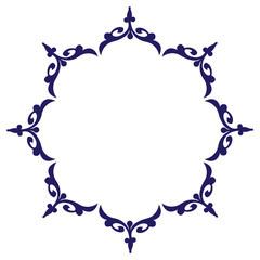 Ornamental circle design