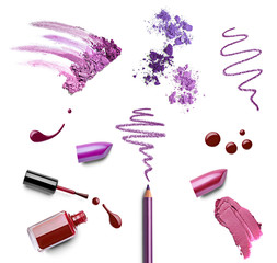 make up beauty lipstick nail polish liquid powder mascara pencil