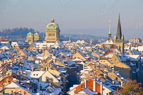 Papiers peints Alpes Bern in winter