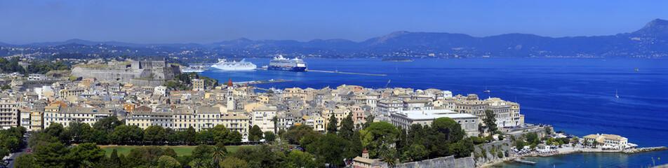Panorama - Korfu-Stadt