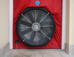 Ventilateur, matériel de contrôle test d'étanchéité à l'air BBC