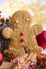 Zimtsterne, Lebkuchenmann, Weihnachten