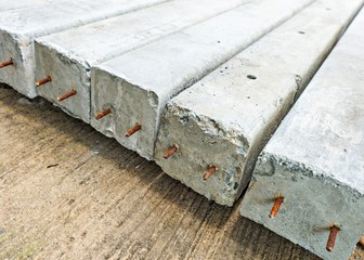 Stack of Readymade Concrete Wall/Floor