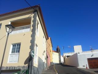 Candelaria village streets. Tenerife island