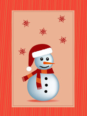 winter christmas illustration