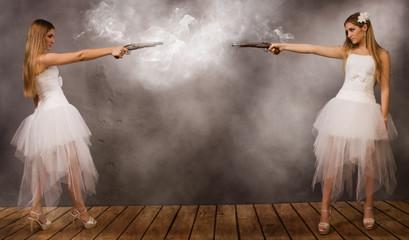 Duel of brides