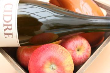 Cidre de France - Pommes à cidre - Cidre bouché