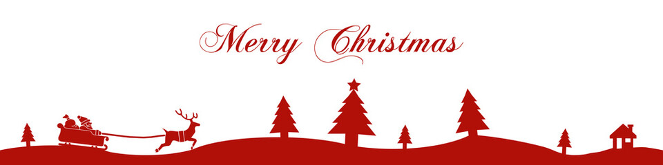 cb1 ChristmasBanner - Merry Christmas - 4to1 e1692
