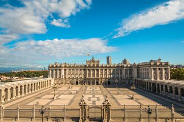 Palacio Real in Madrid Spain