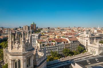 View of Madrid Spain