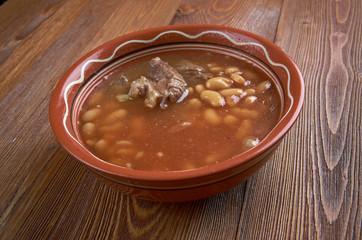 Chorba Loubia Algerian bean Soup