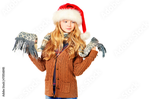 canvas print picture christmas clothes