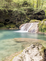 natural pool in the jungle, place to swin on summer