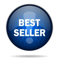 best seller internet blue icon