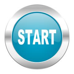 start internet blue icon