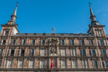 Plaza Mayor of Madrid Spain