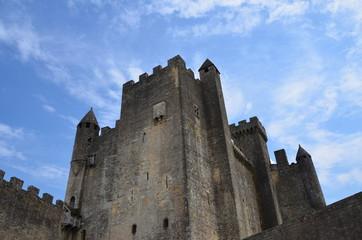 Zamek w Beynac (Francja) Lipiec 2014
