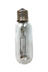 старая лампа накаливания
