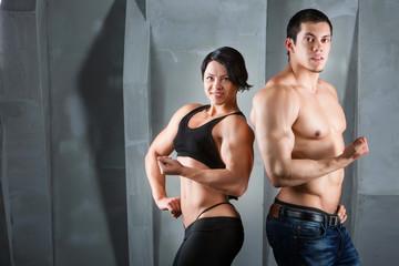 Bodybuilders.