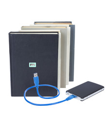 book and USB