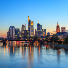 Frankfurt Germany Skyline