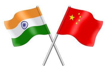 Flags: India and China