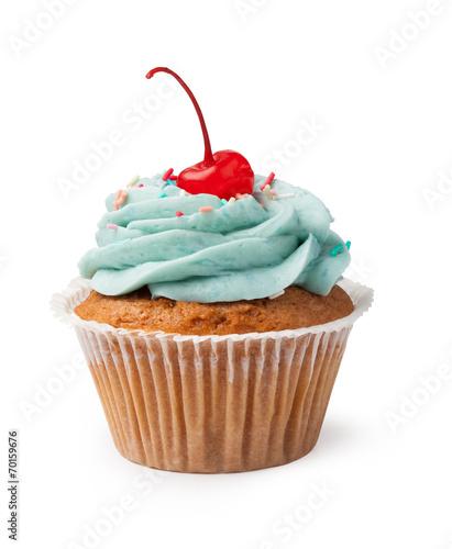 Keuken foto achterwand Snoepjes Cupcake