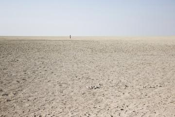 Salt Desert in Namibia, Africa