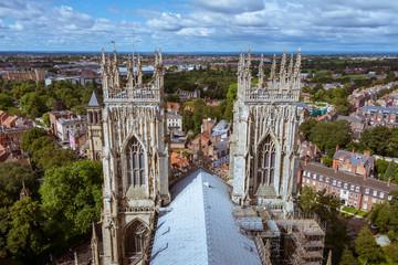 York Minster - towers