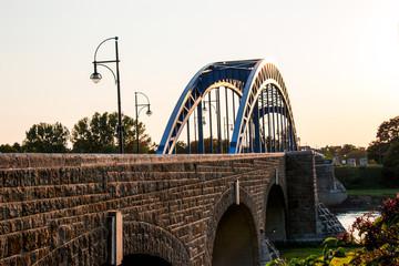 Die Sternbrücke im Abendlicht