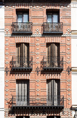 Madrid buildings, Spain