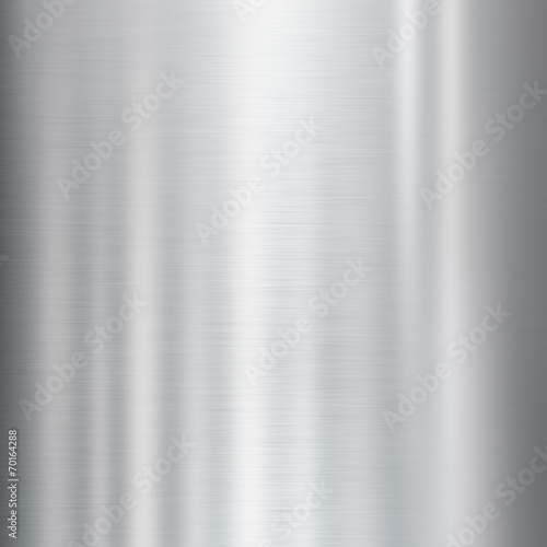 Fototapeta Shiny metal background texture