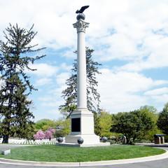 Arlington Cemetery the Spanish-American Memorial 2010