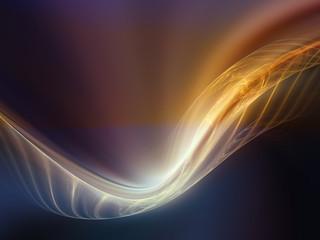Fractal Waves Composition